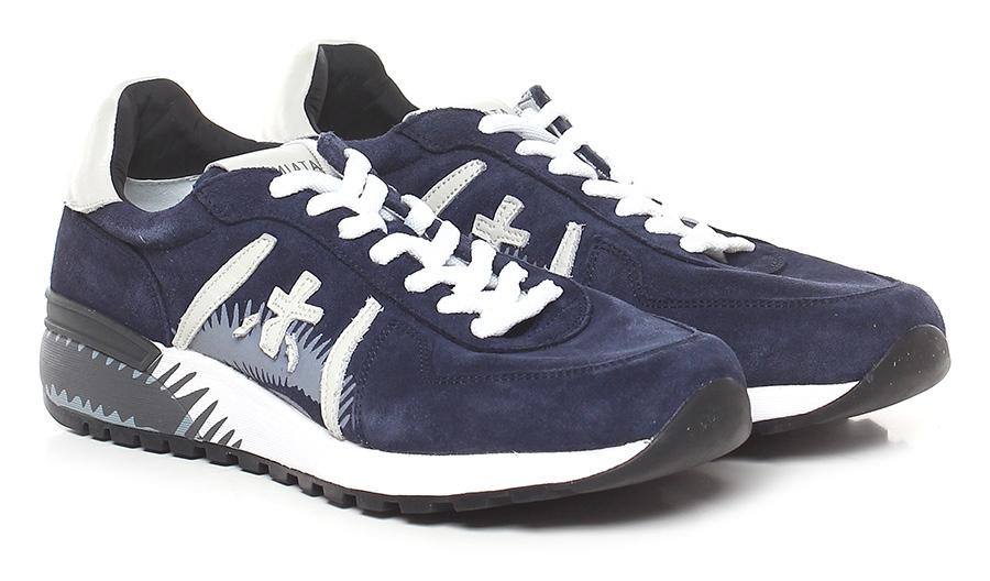 Sneaker 3507 blue/ivory Premiata Scarpe economiche e buone