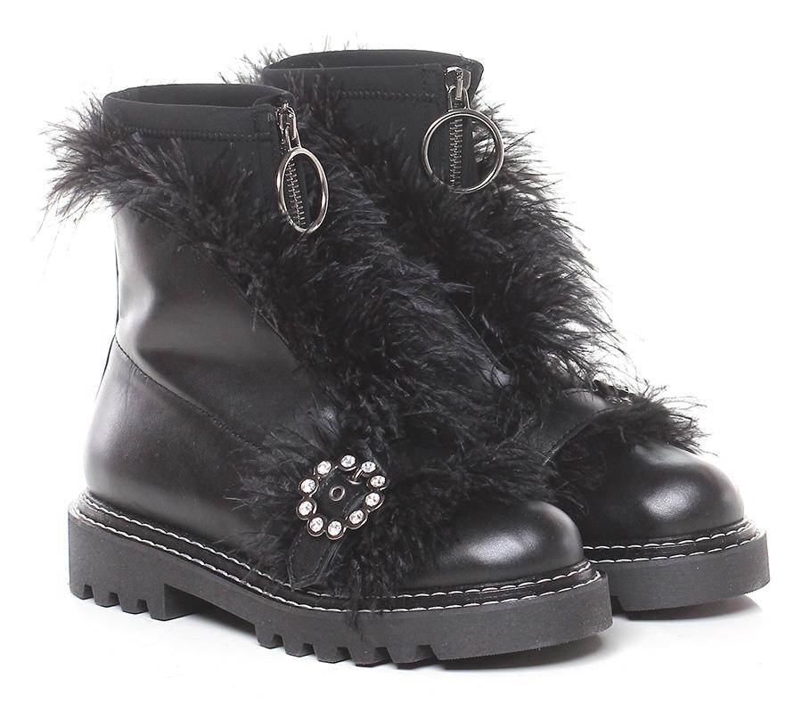 Tronchetto Nero Jeannot Verschleißfeste billige Schuhe