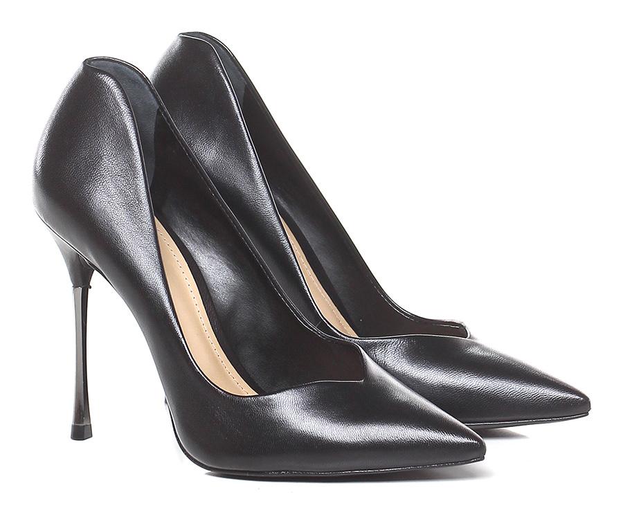 Decolletè Black Schutz Verschleißfeste billige Schuhe