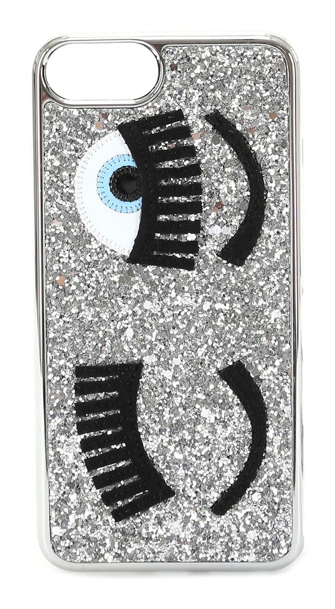 Cover iphone 6/7/8 plus Argento Chiara Ferragni - Le Follie Shop