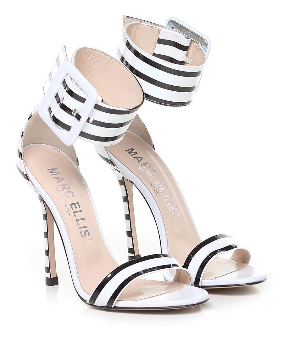 Sandalo alto Bianco nero Marc Ellis New New New York   durabilità    Fornitura sufficiente    Impeccabile    Scolaro/Signora Scarpa  d6515f