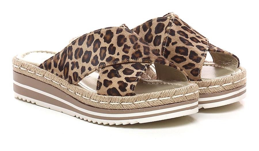 Sandalo basso Leopard Pons Quintana | Abile Fabbricazione  | Prezzo ottimale  | vendita di liquidazione  | Uomini/Donne Scarpa