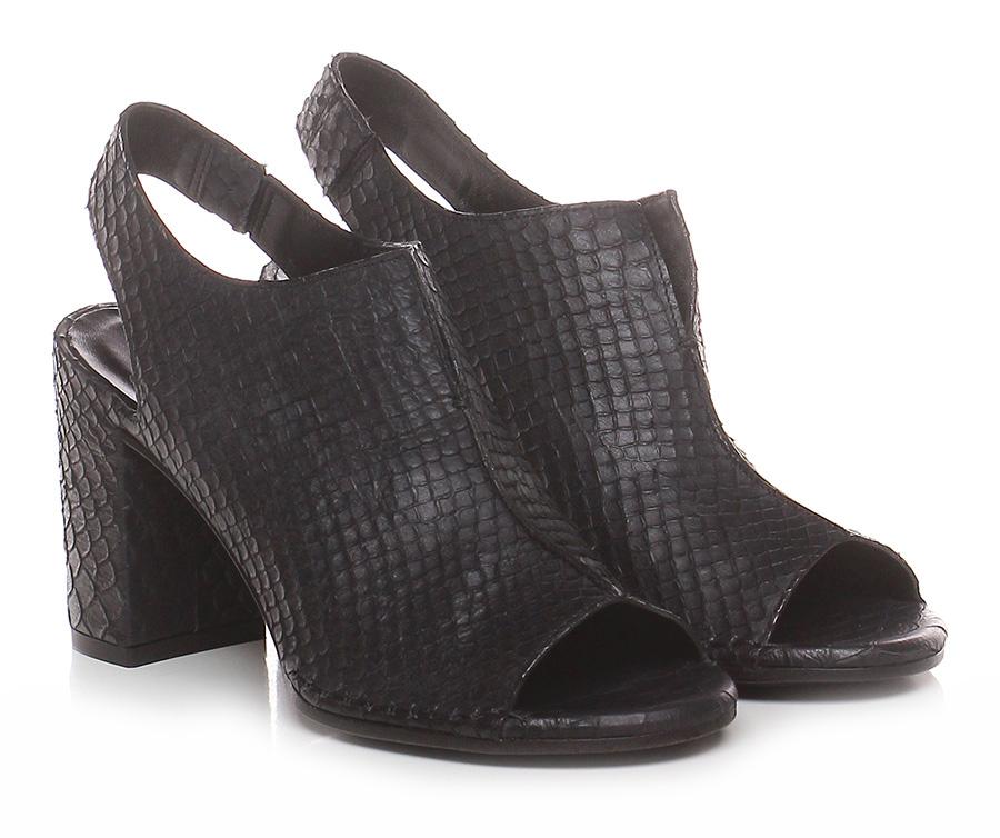 Sandalo alto Nero Del Carlo | Speciale Offerta  | Nuovo Stile  | Di Alta Qualità Ed Economico  | Uomini/Donne Scarpa