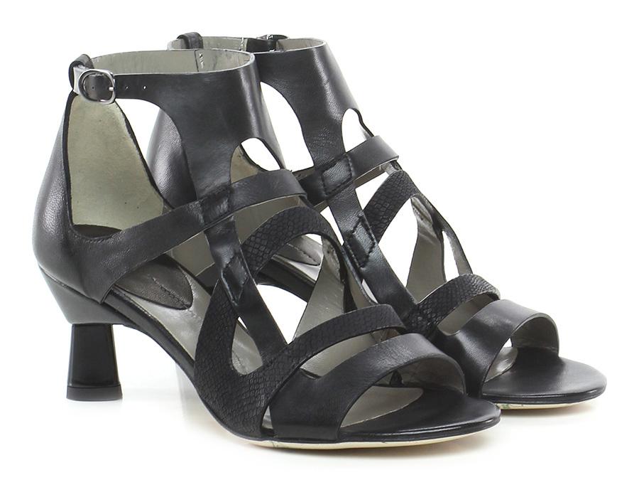 Sandalo alto Nero Ixos | Reputazione a lungo termine  | Forma elegante  | Stravagante  | Uomo/Donna Scarpa