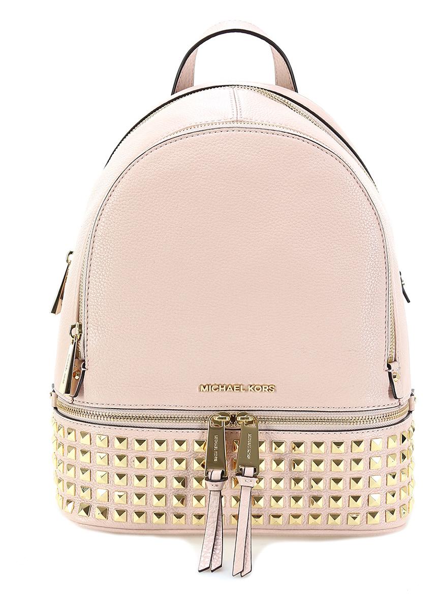 comprare on line 435ec 5950b Zaino rhea zip Soft pink Michael Kors - Le Follie Shop