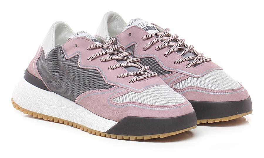 scarpe da ginnastica grigio rosa Crime | Aspetto estetico  | Garanzia autentica  | Sulla Vendita  | Uomini/Donna Scarpa