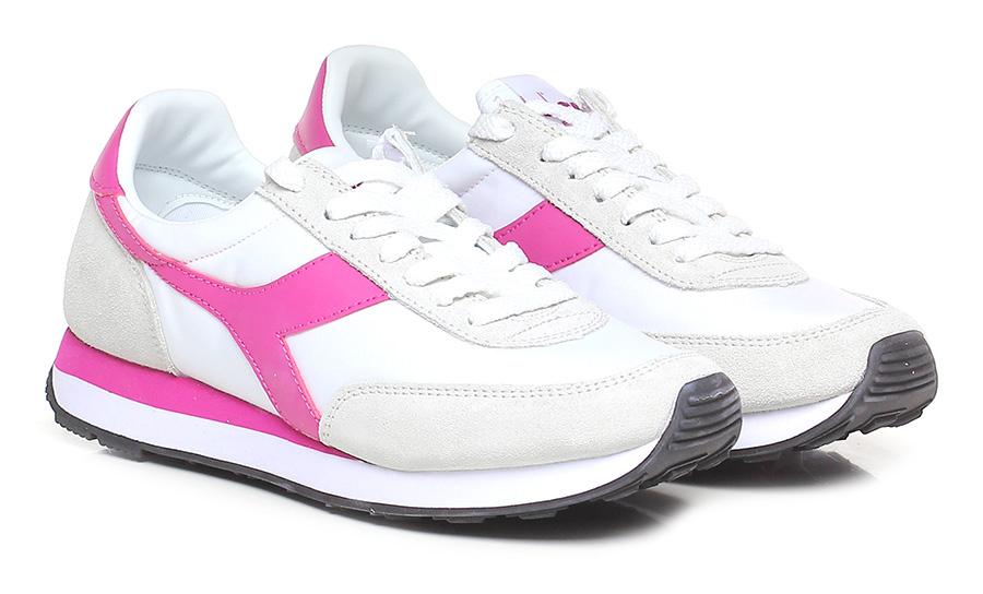 Sneaker C1639 whitefuxia Diadora Heritage | Sneaker, Scarpe