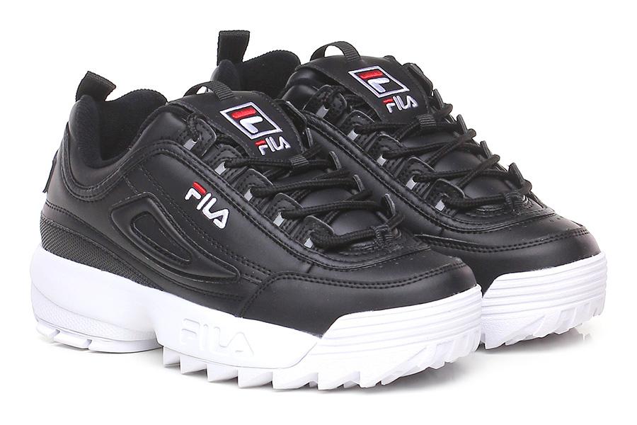 Sneaker Black Fila Le Follie Shop
