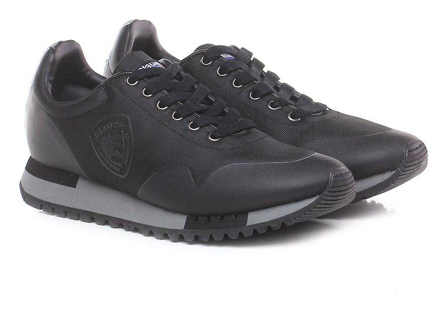 Sneaker denver 03 Black Blauer Le Follie Shop
