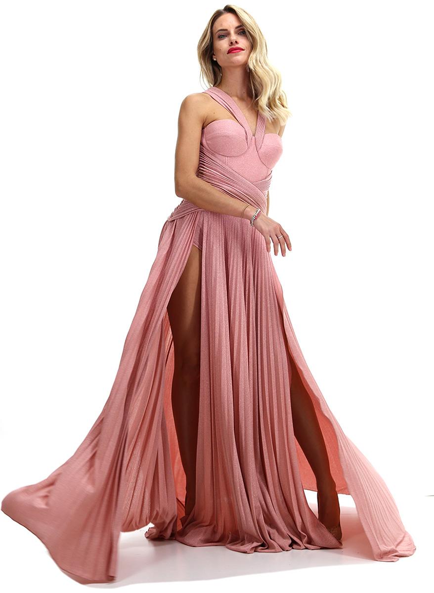 Abito Pink Elisabetta Franchi - Le Follie Shop