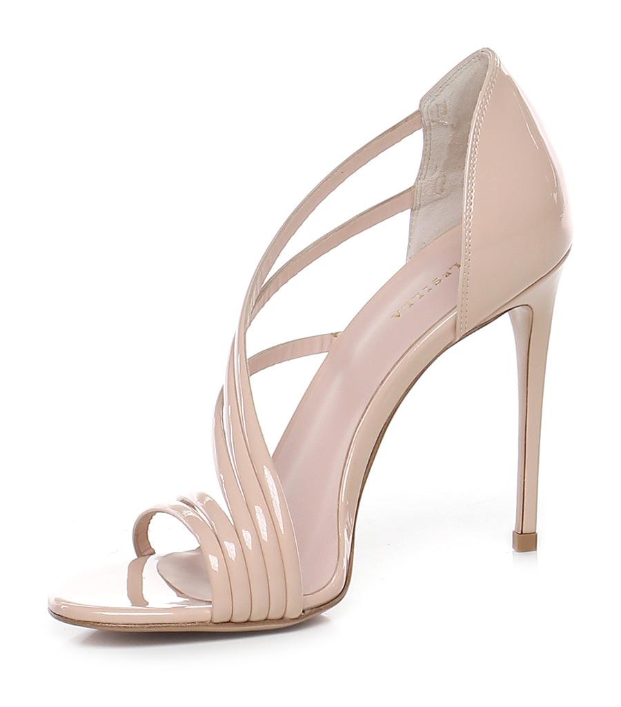Sandalo alto scarlet Nudo Le Silla Le Follie Shop