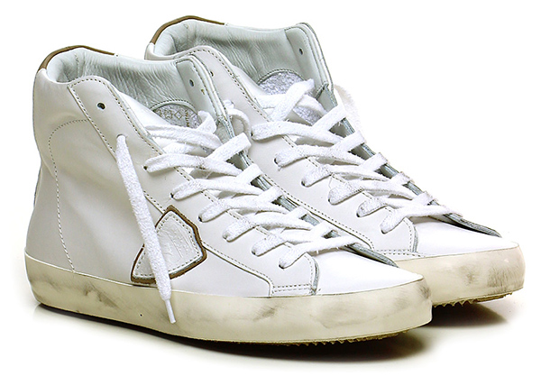 Sneaker White Philippe Model Paris
