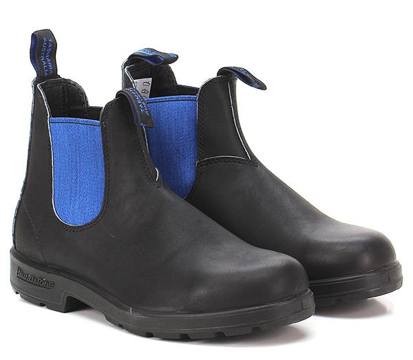 Knöchelschuhe Black/blue Blundstone Verschleißfeste billige Schuhe