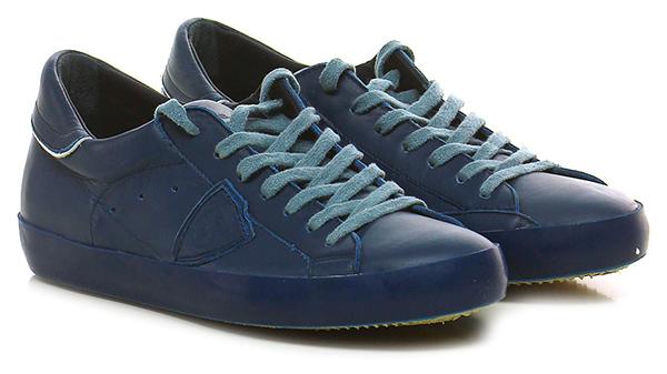 Sneaker Blue Philippe Model Paris Hohe Qualität