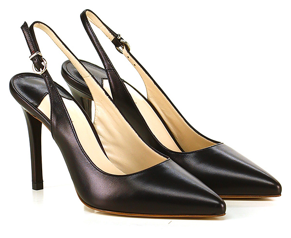 Scarpa con tacco Nero Couture