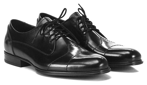 Geschnürt Black Cesare Paciotti Verschleißfeste billige Schuhe