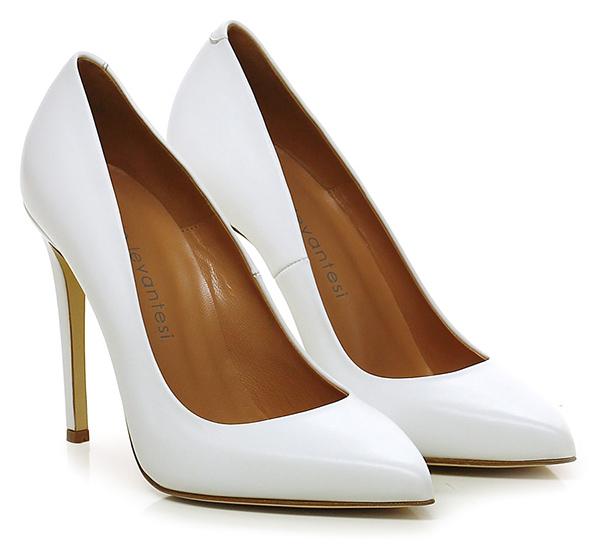 Dekolletee Bianco Sergio Levantesi Verschleißfeste billige Schuhe Schuhe Schuhe e3c583