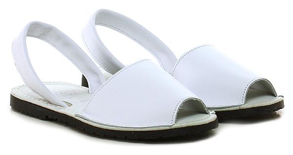 Sandalo basso Bianco Avarca by C. Ortuno
