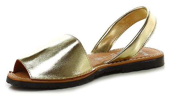 Flache sandale Oro Avarca C. by C. Avarca Ortuno 9c3680
