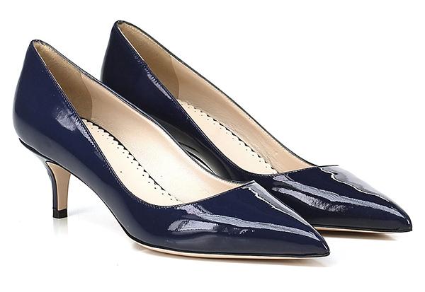 Dekolletee Blu Festa Milano Mode billige Schuhe