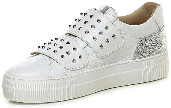 sneaker bianco argento donna carolina group shoes. Black Bedroom Furniture Sets. Home Design Ideas