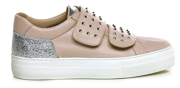 sneaker cipria argento donna carolina group shoes. Black Bedroom Furniture Sets. Home Design Ideas