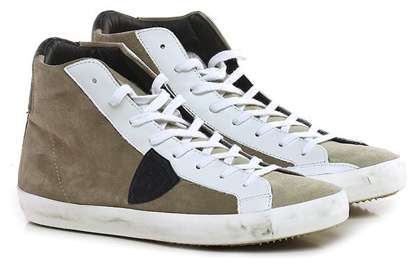 Sneaker White/turtle Philippe Model Paris Mode billige Schuhe