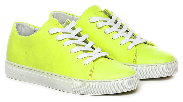 sneaker yellow fluo crime group shoes. Black Bedroom Furniture Sets. Home Design Ideas
