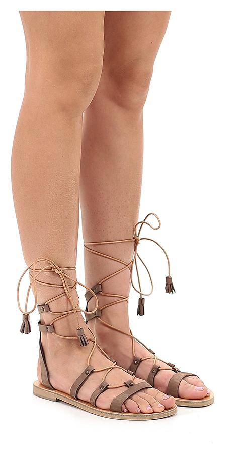 Sandalo basso Fango Grecian Chick Scarpe economiche e buone
