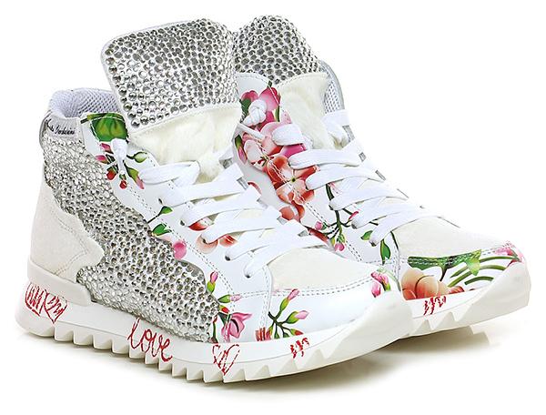 reputable site f78e2 70c00 Sneaker Bianco/avorio Alberto Venturini - Le Follie Shop