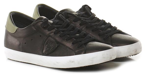 Sneaker Black/green Philippe Model Paris Scarpe economiche e buone