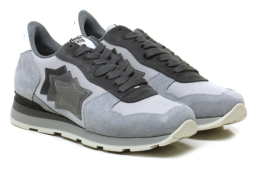 Sneaker Multigrey Atlantic Stars Verschleißfeste billige Schuhe