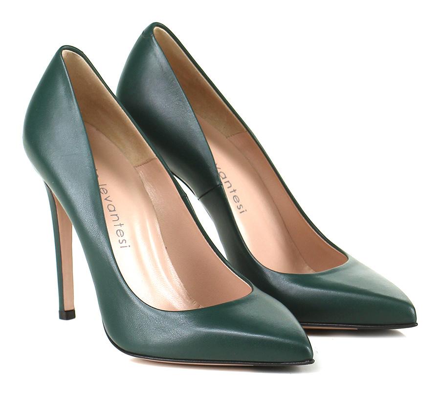 Decolletè Verde Sergio Levantesi Verschleißfeste billige Schuhe