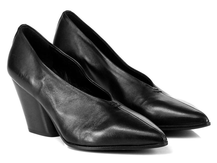 Decolletè Nero Halmanera Mode billige Schuhe