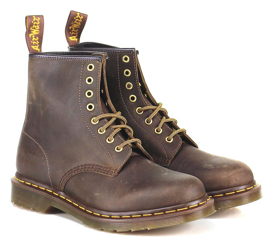 Polacco Brown Dr. Martens Mode billige Schuhe