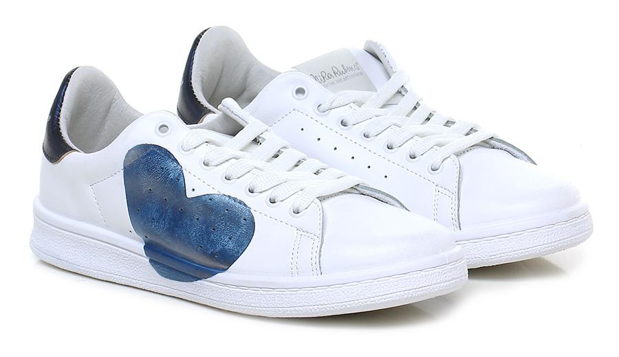 Sneaker Bianco/blu Nira Rubens Scarpe economiche e buone