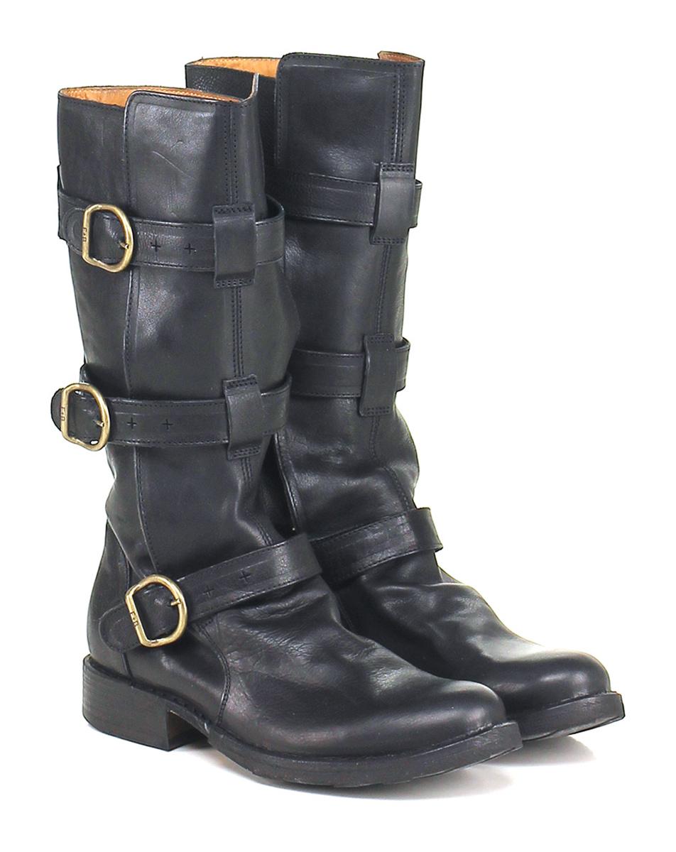 Stivale Nero Fiorentini Baker Verschleißfeste billige Schuhe