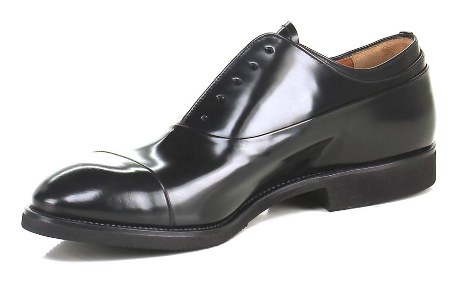 Senza stringhe Nero Premiata Verschleißfeste billige Schuhe