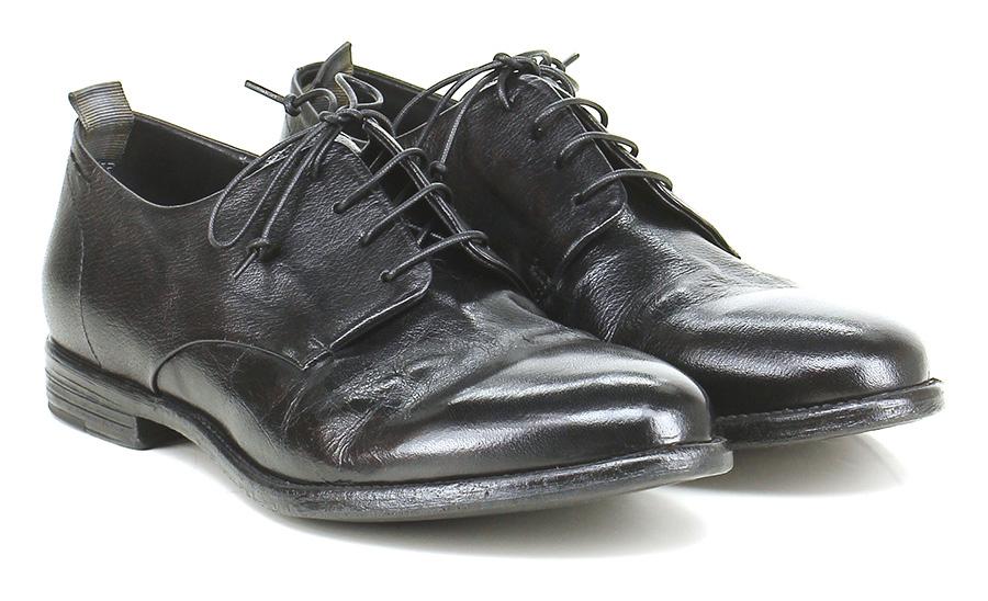 Stringata Nero Alexander Hotto Verschleißfeste billige Schuhe
