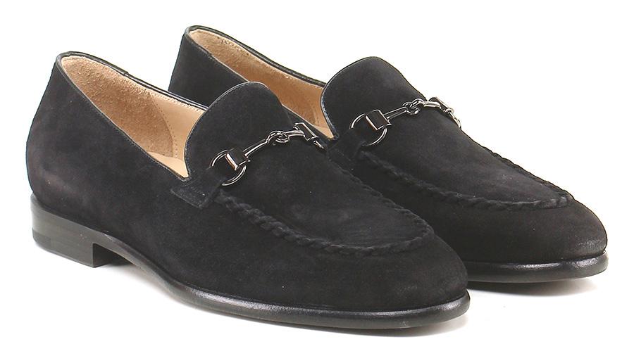 Mocassino Nero Damy Mode billige Schuhe