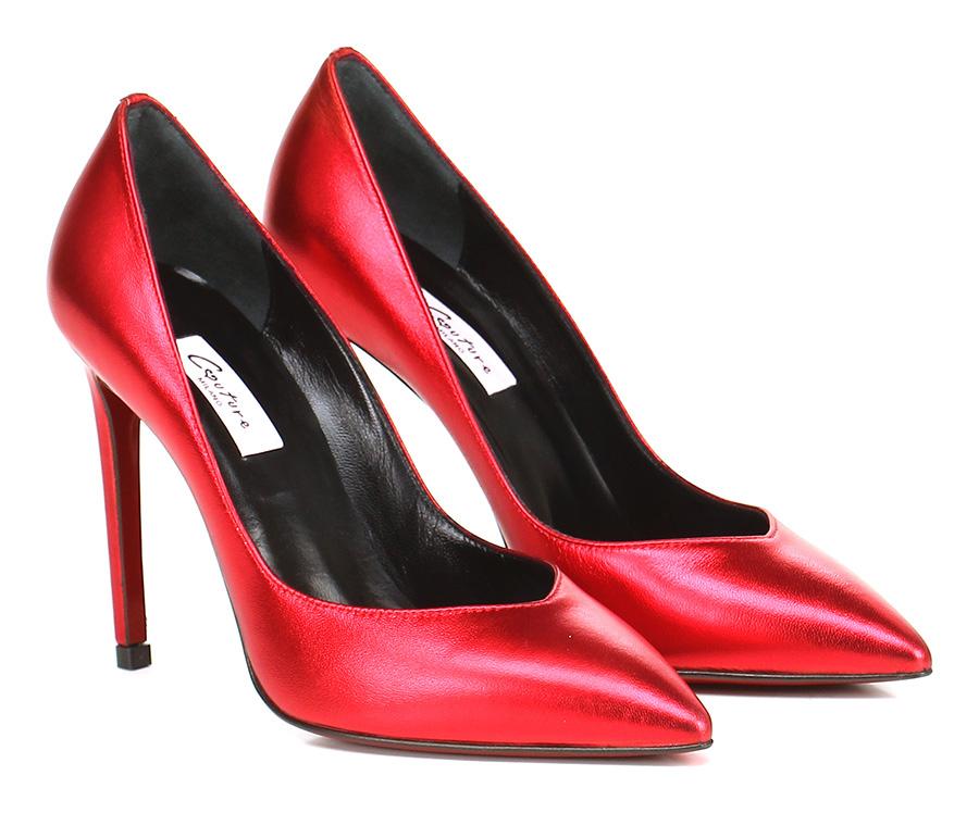 Decolletè Rosso Couture Verschleißfeste billige Schuhe