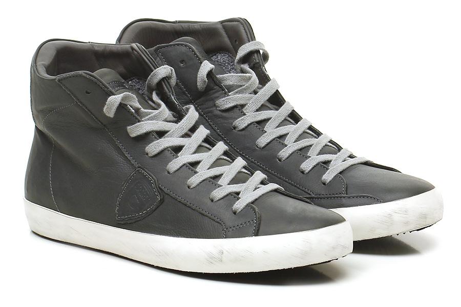 Sneaker Grey Philippe Model Paris Hohe Qualität