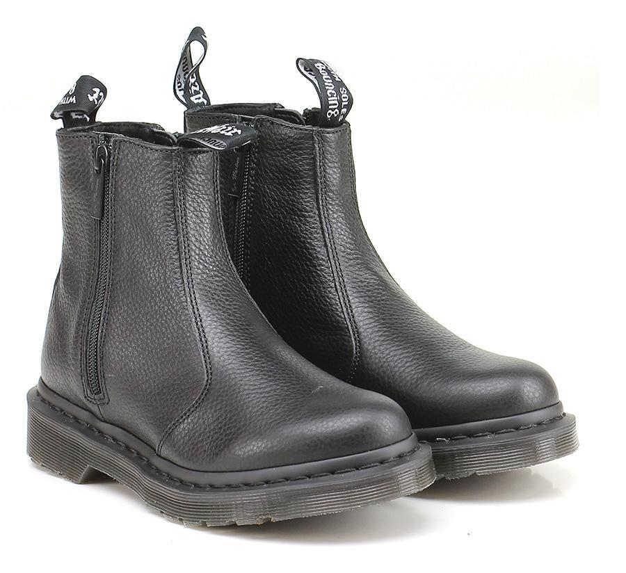 Tronchetto Black Dr. Martens Martens Dr. Verschleißfeste billige Schuhe 4b4ed8