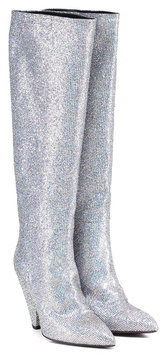 Stivale Argento Giampaolo Viozzi Verschleißfeste billige Schuhe