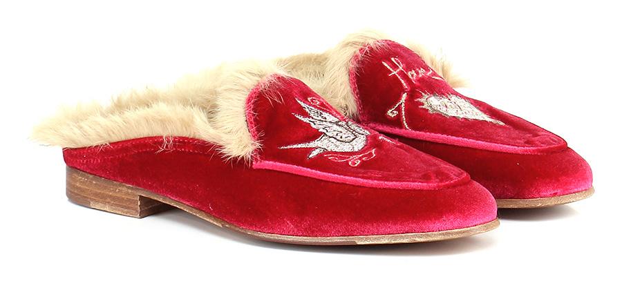Scarpa bassa Rosso/beige Lemare' Verschleißfeste billige Schuhe