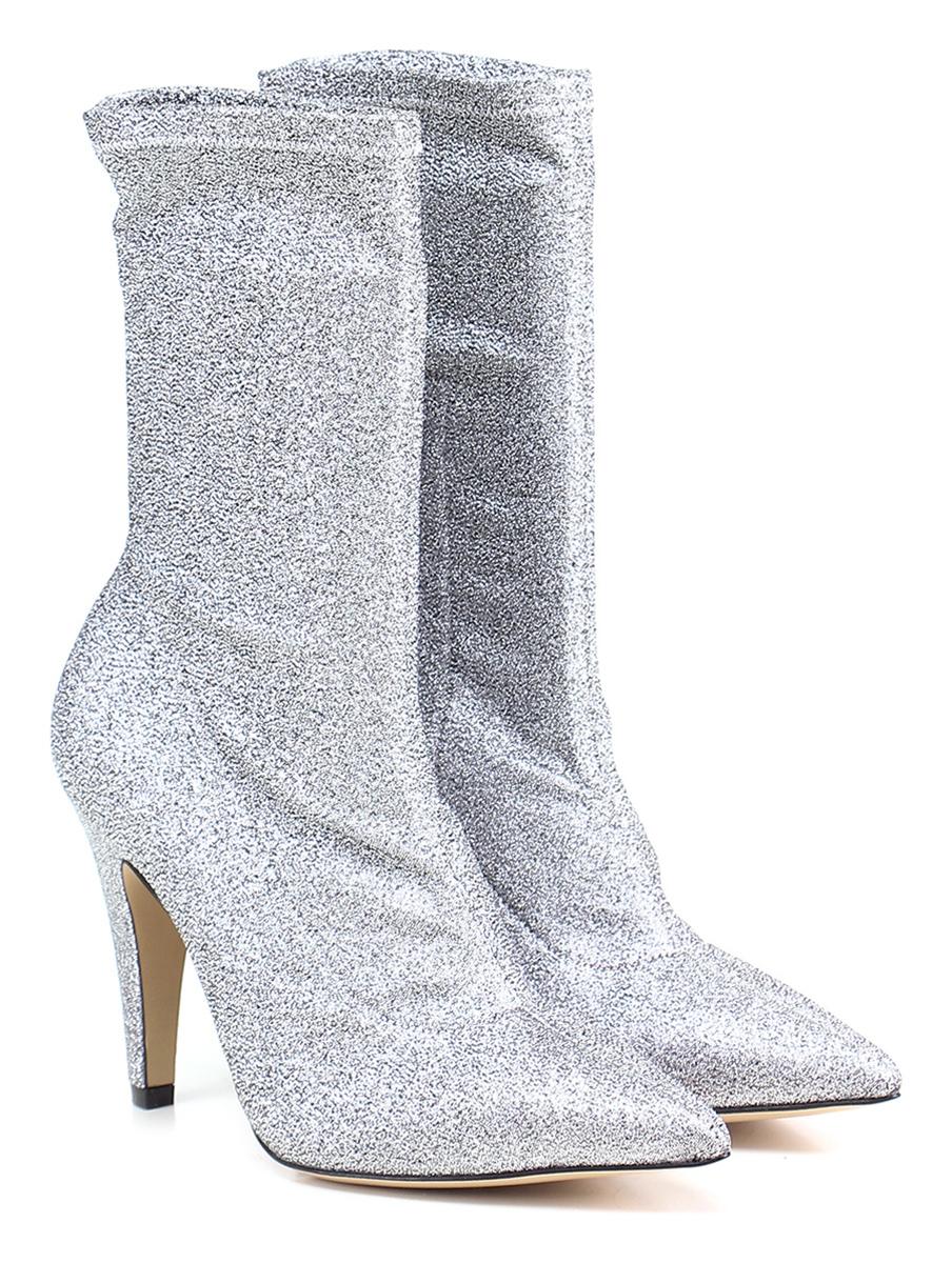 Tronchetto Argento Giampaolo Viozzi Verschleißfeste billige Schuhe