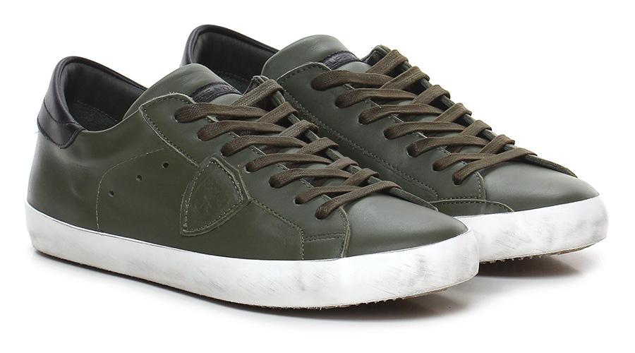 Sneaker Military/black Philippe Model Paris