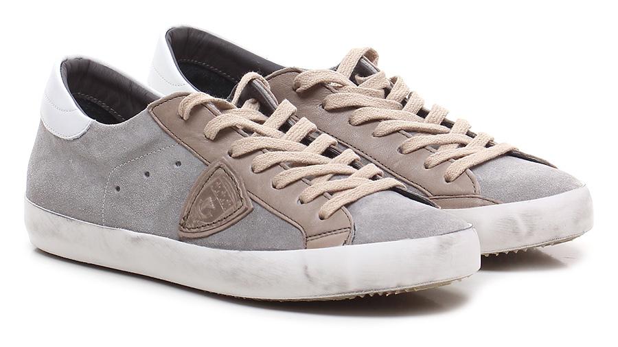 Sneaker Grey/white Philippe Model Paris