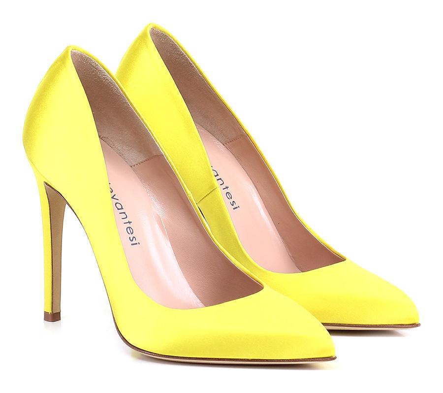 Decolletè Giallo Sergio Levantesi billige Verschleißfeste billige Levantesi Schuhe 5fa573
