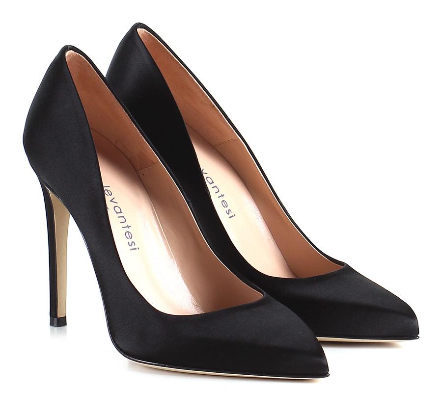 Decolletè Nero Sergio Levantesi Verschleißfeste billige Schuhe